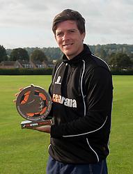 Bristol Rovers' manager, Darrell Clarke wins manager of the month for September  - Photo mandatory by-line: Dougie Allward/JMP - Mobile: 07966 386802 - 03/10/2014 - SPORT - Football - Bristol - Friends Life Sports Ground - Bristol Rovers Training Ground -  v  -  - Vanarama