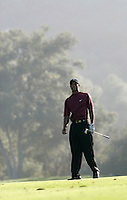 12 December 2004: Tiger Woods closed out the final round of golf with 5-under-par 66 for a two-shot victory over Padraig Harrington (Ireland) at the 2004 Target World Challenge Presented by Williams held at the Sherwood Country Club in Thousand Oaks, CA.  Mandatory Credit:  Shelly Castellano/ICON SMI<br />