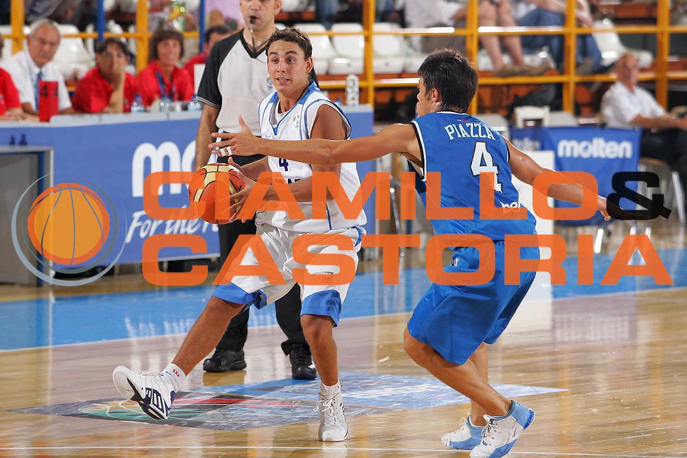 DESCRIZIONE : Gorizia U20 European Championship Men Qualifying Round Israel Italy <br /> GIOCATORE : Assaf <br /> SQUADRA : Israel <br /> EVENTO : Gorizia U20 European Championship Men Qualifying Round Israel Italy Campionato Europeo Maschile Under 20 Qualificazioni Israele Italia <br /> GARA : Israel Italy <br /> DATA : 11/07/2007 <br /> CATEGORIA : Palleggio <br /> SPORT : Pallacanestro <br /> AUTORE : Agenzia Ciamillo-Castoria/S.Silvestri <br /> Galleria : Europeo Under 20 <br /> Fotonotizia : Gorizia U20 European Championship Men Qualifying Round Israel Italy <br /> Predefinita :