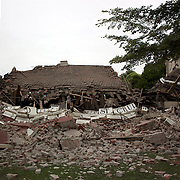 The Oxford Terrace Baptist Church after a Powerful earth quake ripped through Christchurch, New Zealand on Tuesday lunch time killing at least 65 people as it brought down buildings, buckled roads and damaged churches and the Cities Cathedral. Photo Tim Clayton