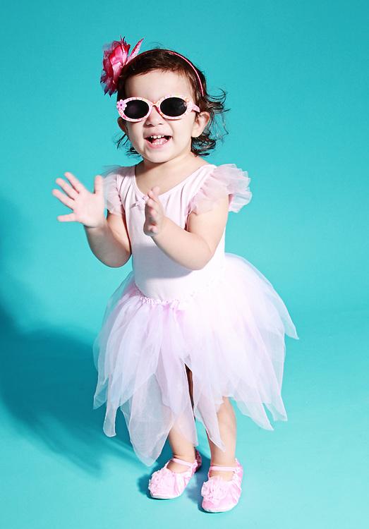 Портрет на малка балерина