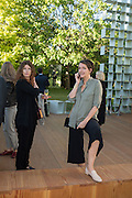 SAFRON ALDRIDGE, Party  to celebrate Julia Peyton-Jones's  25 years at the Serpentine. London. 20 June 2016