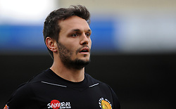 Exeter Chiefs Phil Dolman  - Photo mandatory by-line: Harry Trump/JMP - Mobile: 07966 386802 - 14/02/15 - SPORT - Rugby - Aviva Premiership - Sandy Park, Exeter, England - Exeter Chiefs v Newcastle Falcons