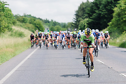 Alison Tetrick (Cylance) attacks at Aviva Women's Tour 2016 - Stage 1. A 138.5 km road race from Southwold to Norwich, UK on June 15th 2016.
