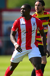 LEE NDLOVU BRACKLEY TOWN, Brackley Town v Bradford Park Avenue Vanarama National League North Play Off Semi Final, St James Park, Sunday 6th May 2018, Score Brackley 1-0 (Williams)