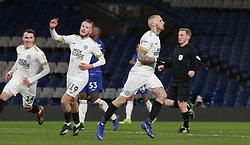 Marcus Maddison of Peterborough United celebrates scoring his goal - Mandatory by-line: Joe Dent/JMP - 09/01/2019 - FOOTBALL - Stamford Bridge - London, England - Chelsea U21 v Peterborough United - Checkatrade Trophy