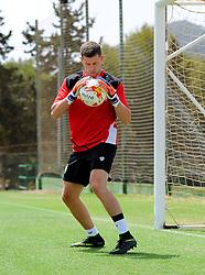 Frank Fielding of Bristol City  - Mandatory by-line: Joe Meredith/JMP - 19/07/2016 - FOOTBALL - Bristol City pre-season training camp, La Manga, Murcia, Spain
