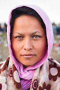 Refugee Fariba Mosavi : Hegyeshalom, Hungary