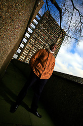 UK ENGLAND LONDON 8JAN09 - Director of Mygeneration, a social initiative for local youths Shaun Bailey poses for a photo outside Trellick Tower in North Kensington. Mr Bailey has been born and lived in this area all his life and is currently a candidate for the local Conservative MP seat...jre/Photo by Jiri Rezac