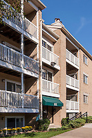 Exterior photo of McDonogh Township Apartments by Jeffrey Sauers of Commercial Photographics