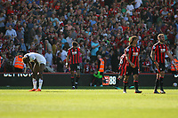Football - 2017 / 2018 Premier League - AFC Bournemouth vs. Swansea City<br /> <br /> A dejected Tammy Abraham of Swansea after the final whistle at Dean Court (Vitality Stadium) Bournemouth <br /> <br /> COLORSPORT/SHAUN BOGGUST