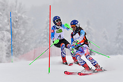 KUBACKA Marek Guide: ZATOVICOVA Maria, B1, SVK, Men's Giant Slalom at the WPAS_2019 Alpine Skiing World Championships, Kranjska Gora, Slovenia