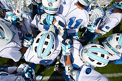 27 March 2010: North Carolina Tar Heels during a 9-7 win over the Maryland Terrapins on Fetzer Field in Chapel Hill, NC.