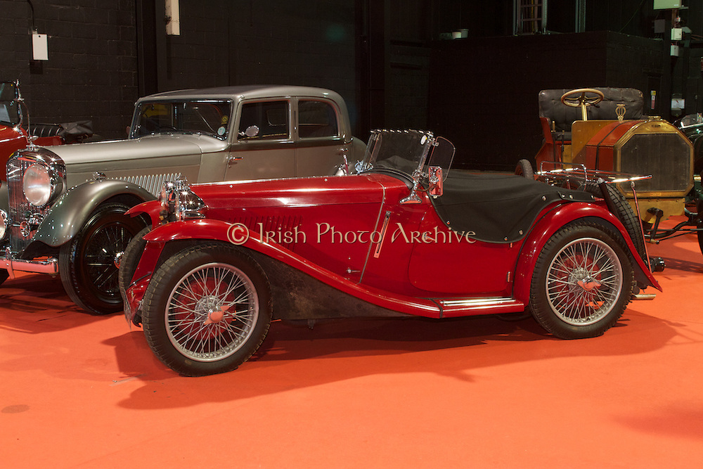 "RIAC Classic Car Show 2013, RDS, 1934 MG PA, ZA 3032, current owner: Paul MacNaughton. This car was found in Belfast in the 1960's -(MZ 7356 with a ""Free State"" original registration). It's a true museum piece. Irish, Photo, Archive."