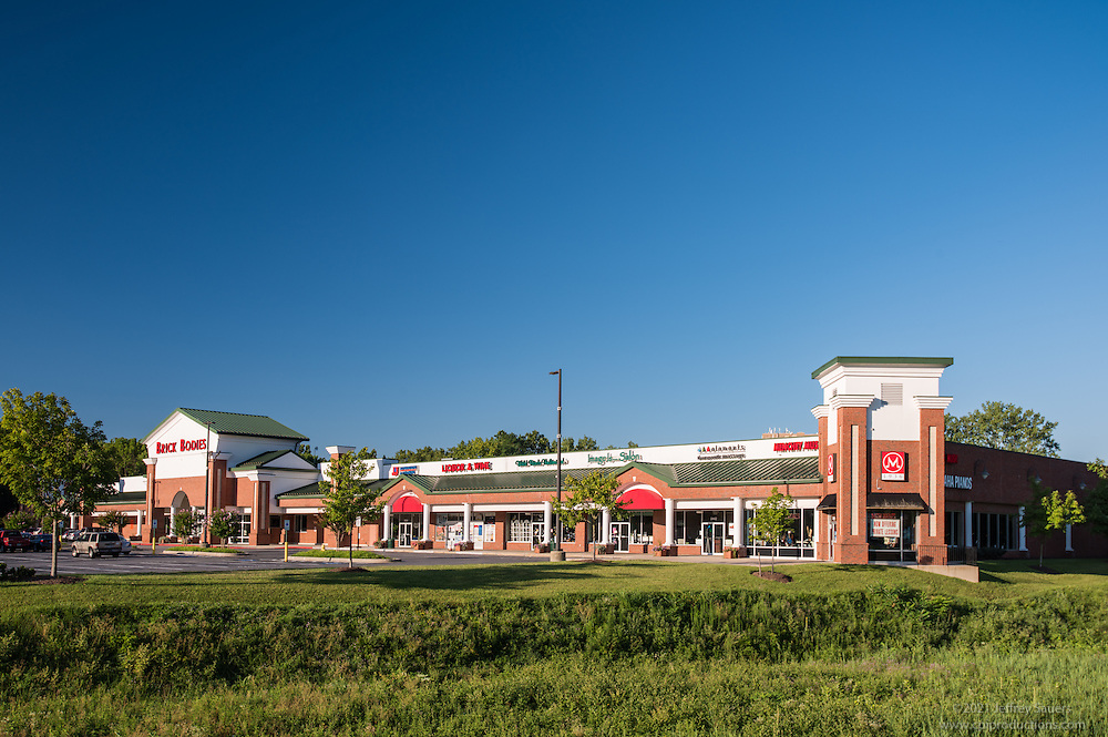 Exterior image of  Broadstreet Market in Maryland by Jeffrey Sauers of Commercial Photographics, Architectural Photo Artistry in Washington DC, Virginia to Florida and PA to New England