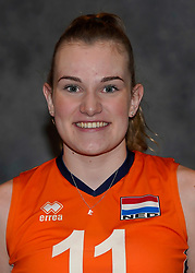 24-12-2019 NED: Photoshoot selection of Orange Youth Girls, Arnhem<br /> Orange Youth Girls 2019 - 2020 / Emily Silderhuis #11