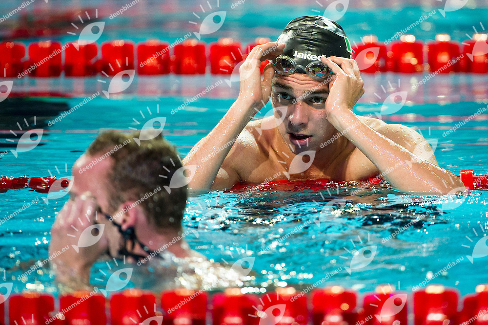 Paltrinieri Gregorio ITA  Silver Medal.Men 1500m Freestyle Final.FINA World Short Course Swimming Championships.Istanbul Turkey 12 - 16 Dec. 2012.Day 05.Photo G.Scala/Deepbluemedia/Inside