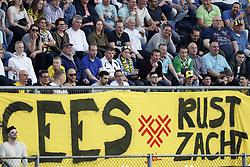 banner Cees Versteeg Rust Zacht during the Dutch Eredivisie match between NAC Breda and Vitesse Arnhem at the Rat Verlegh stadium on April 07, 2018 in Breda, The Netherlands