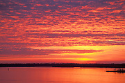 Sunrise over Winyah Bay