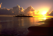 Motu (island), Tahiti, French Polynesia<br />