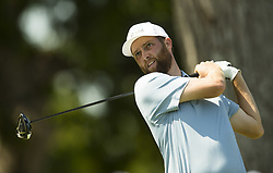 May 25, 2018 - Fort Worth, TX, USA - FORT WORTH, TX - MAY 25, 2018 - Chris Kirk tees off on the 11th hole during the second round of the 2018 Fort Worth Invitational PGA at Colonial Country Club in Fort Worth, Texas (Credit Image: © Erich Schlegel via ZUMA Wire)
