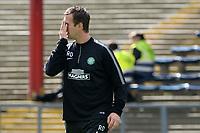 31/09/14 SCOTTISH PREMIERSHIP<br /> DUNDEE v CELTIC <br /> DENS PARK - DUNDEE<br /> Celtic manager Ronny Deila