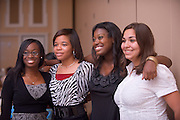 19004Legacy 2008 Recognition & Awards Ceremony in Baker Center 7/31/08: Templeton Scholars, Urban Scholars, and Appalachian Scholars...Christine Nwajei, Ugonna Okpalaoka, Brittany Oliver, Stephanie Del Rosal
