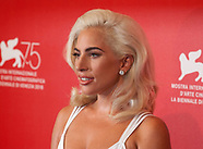 A Star is Born film photocall - Venice Film Festival