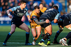 Andy Uren of Bristol Rugby - Rogan Thomson/JMP - 21/01/2017 - RUGBY UNION - Cardiff Arms Park - Cardiff, Wales - Cardiff Blues v Bristol Rugby - EPCR Challenge Cup.