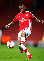 Cedric Evina of Arsenal   FA Cup Youth Semi-Final 2nd Leg <br /> Arsenal Youth v Manchester City Youth at  Emirates Stadium London<br /> 22/04/2009. Credit Colorsport /  Kieran Galvin