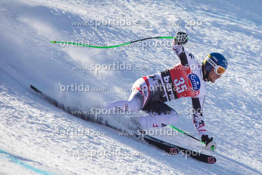 27.12.2013, Stelvio, Bormio, ITA, FIS Ski Weltcup, Bormio, Abfahrt, Herren, 1. Traininglauf, im Bild Johannes Kroell (AUT) bei seinem Sturz // Johannes Kroell of Austria when he fell during mens 1st downhill practice of the Bormio FIS Ski Alpine World Cup at the Stelvio Course in Bormio, Italy on 2012/12/27. EXPA Pictures © 2013, PhotoCredit: EXPA/ Johann Groder