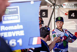 Romain Febvre #461 of France during MXGP Trentino race one, round 5 for MXGP Championship in Pietramurata, Italy on 16th of April, 2017 in Italy. Photo by Grega Valancic / Sportida
