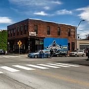 Kansas City, Missouri; Crossroads District area; 18th & Locust Streets; Busy Bee Cafe