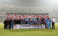 Cricket - India v Sri Lanka 3rd T20i at Mumbai