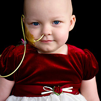 A Children's Cancer Association Hero Wall child, honored for her courage and grace over all obstacles in her life.