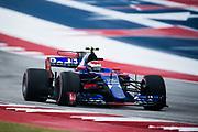 October 19-22, 2017: United States Grand Prix. Sean Gelael, Scuderia Toro Rosso, STR12