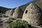 Charcola Kilns near Emigrant Pass in Death Valley National Park in California