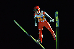 21.11.2014, Vogtland Arena, Klingenthal, GER, FIS Weltcup Ski Sprung, Klingenthal, Herren, HS 140, Qualifikation, im Bild Markus Eisenbichler (GER) // during the mens HS 140 qualification of FIS Ski jumping World Cup at the Vogtland Arena in Klingenthal, Germany on 2014/11/21. EXPA Pictures © 2014, PhotoCredit: EXPA/ Eibner-Pressefoto/ Harzer<br /> <br /> *****ATTENTION - OUT of GER*****