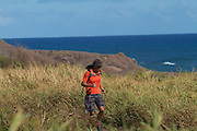the sport of trail running,photo of the firecracker trail race on Oahu