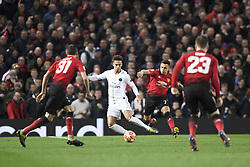 February 12, 2019 - Manchester, France - 04 Thilo Kehrer (psg) - 07 Alexis Sanchez  (Credit Image: © Panoramic via ZUMA Press)