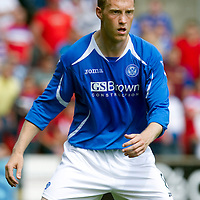 St Johnstone FC..season 2011-12<br /> Steven Anderson<br /> Picture by Graeme Hart.<br /> Copyright Perthshire Picture Agency<br /> Tel: 01738 623350  Mobile: 07990 594431