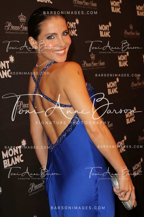 """MONTE-CARLO, MONACO - SEPTEMBER 08:  Elsa Pataky attends the Montblanc """"Collection Princesse Grace de Monaco"""" World Premiere presentation under the High Patronage of H.S.H. Prince Albert II of Monaco at Monte-Carlo Opera on September 8, 2011 in Monte-Carlo, Monaco.  (Photo by Tony Barson/Getty Images for Montblanc)"""