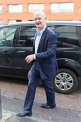 © Licensed to London News Pictures. 18/02/2018. London, UK. LORD DAVID WILLETTS MP arrives at ITV Studios in London to appear on the Peston on Sunday politics show. Photo credit: Vickie Flores/LNP