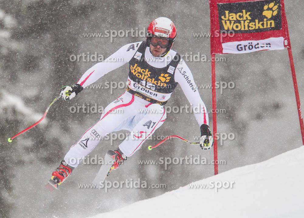 15.12.2012, Sasslong, Groeden, ITA, FIS Weltcup, Ski Alpin, Abfahrt, Herren, im Bild Joachim Puchner (AUT) // Joachim Puchner of Austria in action during the Downhill of the FIS Ski Alpine Worldcup at the Sasslong course, Groeden, Italy on 2012/12/15. EXPA Pictures © 2012, PhotoCredit: EXPA/ Johann Groder