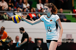 16.05.2019, Montreux, SUI, Montreux Volley Masters 2019, Deutschland vs Polen, im Bild Marie Schoelzel (Germany #14) // during the Montreux Volley Masters match between Germany and Poland in Montreux, Switzerland on 2019/05/16. EXPA Pictures © 2019, PhotoCredit: EXPA/ Eibner-Pressefoto/ beautiful sports/Schiller<br /> <br /> *****ATTENTION - OUT of GER*****