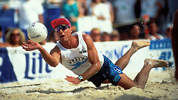 AVP Professional Volleyball - Atlanta, GA - 1994 - Karch Kiraly - Photo by Wally Nell/Volleyball Magazine