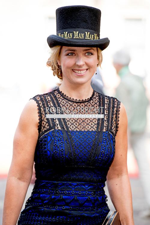 DEN HAAG - PvdD-leider Marianne Thieme bij de Ridderzaal op Prinsjesda ROBIN UTRECHT