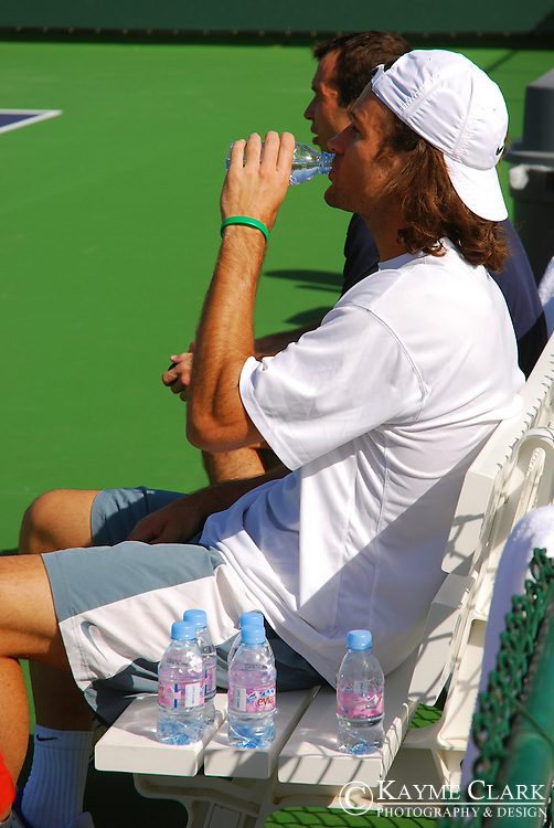 Carlos Moya, Spain, ATP Player, Pacific Life Open Tennis Tournament, Indian Wells Tennis Garden, California, United States
