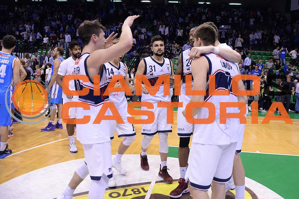 Fortitudo Bologna<br /> Treviso 17 Maggio  2017 -<br /> Campionato Basket Legadue - Play Off quarti Gara 2 - Treviso Basket  vs Kontatto Fortitudo Bologna<br /> Foto Ciamillo/Michele Gregolin