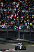 April 20, 2014 - Shanghai, China. UBS Chinese Formula One Grand Prix. Valtteri Bottas (FIN), Williams-Mercedes
